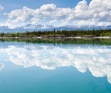 A Lake in the Yukon