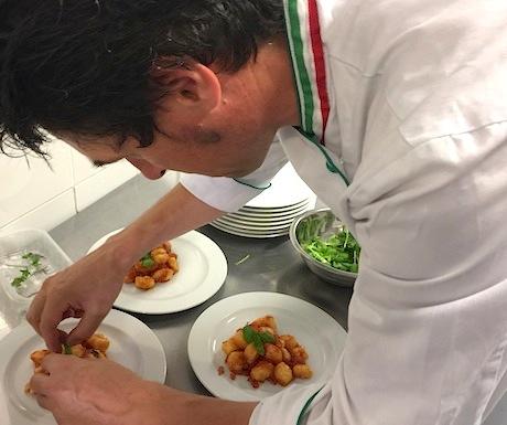 Chef Luigi at Cultura Italiana Bologna Cucina