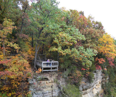 Fall Overlook Starved Rock
