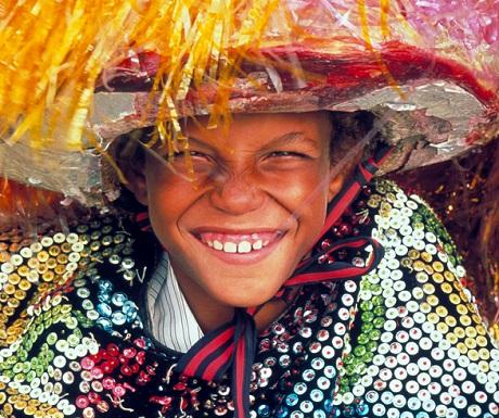 Festival smile