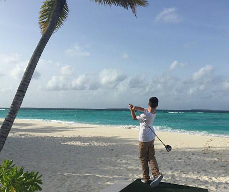 Golf at JA Manafaru Resort