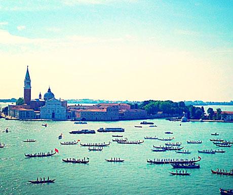 Gondolier Race - Venetian Lagoon
