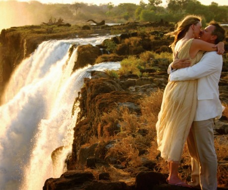 Honeymoon Couple Victoria Falls Tongabezi