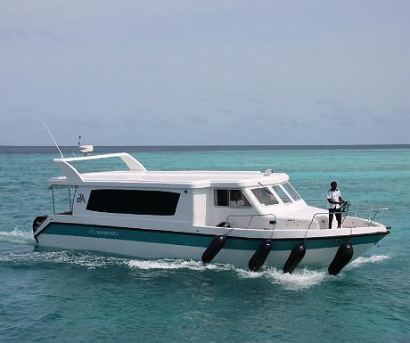 JA Manafaru boat