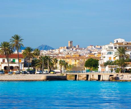 Javea Spain Views From Sea