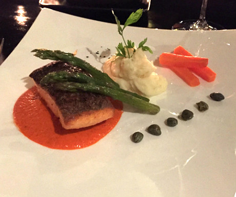 Salmon at The Cellar