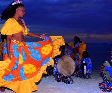 Sega dancing Mauritius