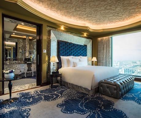 The Reverie Saigon - Junior Suite Bedroom