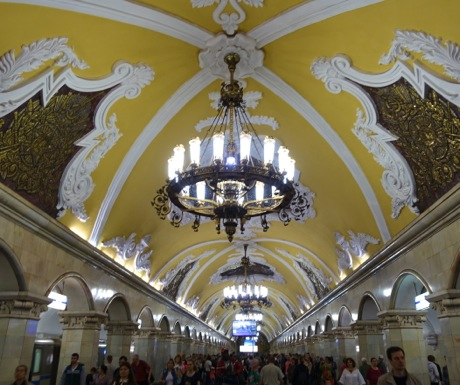 Top Tips for Moscow-Moscow Metro Tour