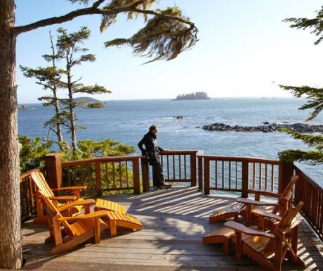 View from Middle Beach Lodge