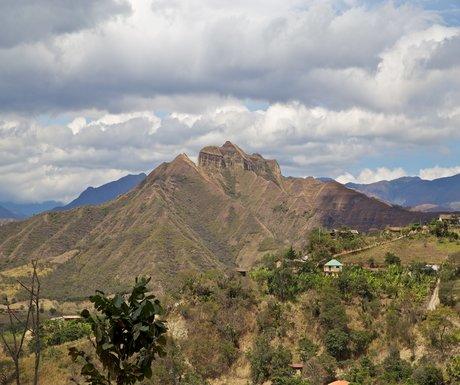 Vilcabamba Sleeping Inca