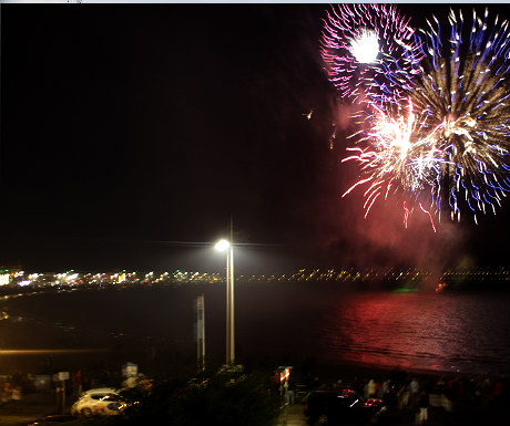 Weymouth fireworks