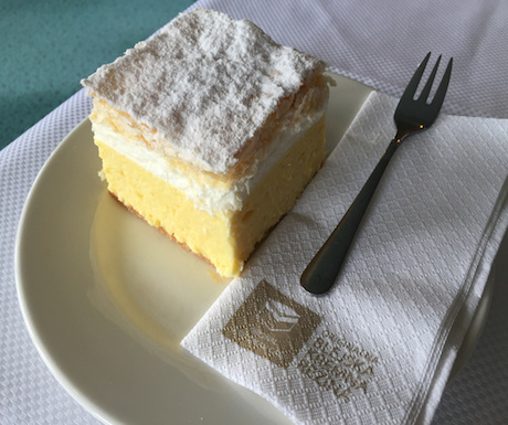 3. Sample the local Lake Bled Cream Cake