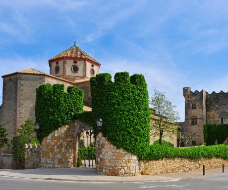 Altafulla Sant Marti Church and Altafulla Castle