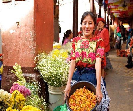 Chichicastenango Flowers