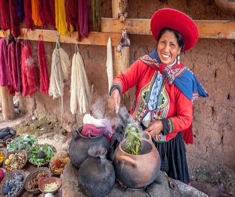 Chinchero Market Woman