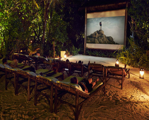 Gili Lankanfushi Movie Night