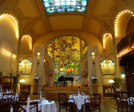 LEurope Restaurant-Grand Hotel Europe-St Petersburg Russia
