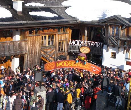 Après ski at Mooser Wirt St Anton