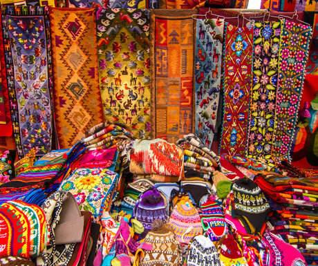 Peru Pisac Market
