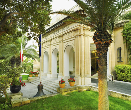 Phoenicia Hotel - facade