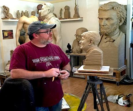 Sculpture Steve Whyte