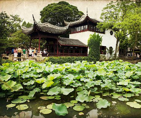 Suzhou private gardens