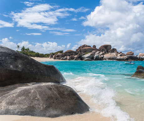 The Baths of the BVI