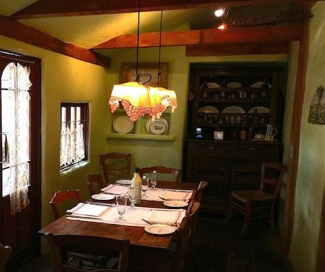 Van Gogh's table in Cassanova