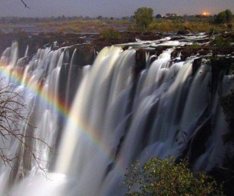 Victoria Falls from Tangala House