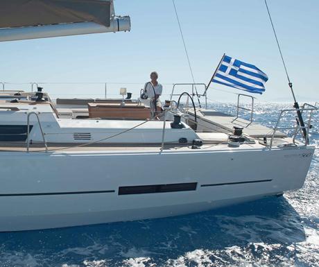sailing Aegean sea  Ipsion charter, Kos