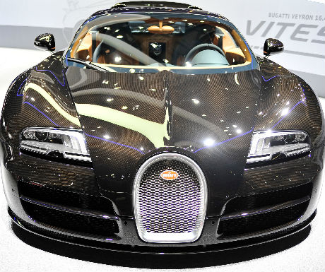 top supercars - Bugatti