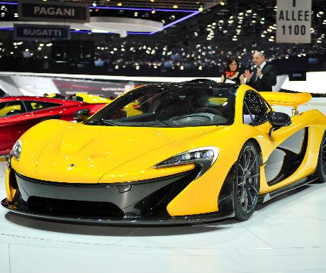 top supercars - Mclaren