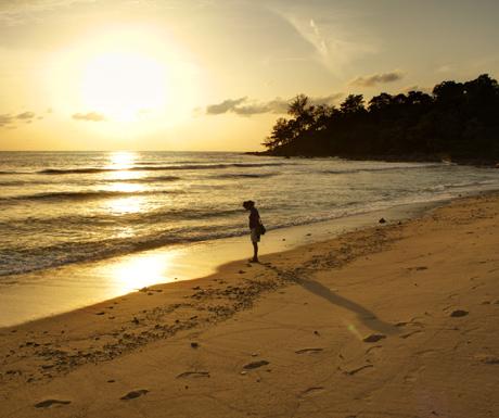 Trisara Beach Sunset