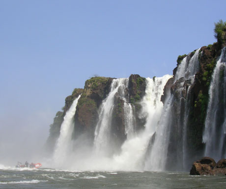 Argentina cultural and heritage tour - Iguazu waterfall Devils Throat