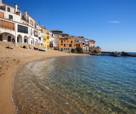 Calella de Palafrugell Costa Brava shore