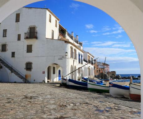 Calella de Palafrugell idyllic views