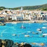 Calella de Palafrugell views from sea