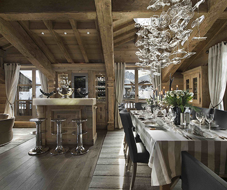 Chalet Pearl Courchevel France, French Alps