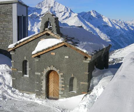 Bernard Von Aosta Mountain Chapel