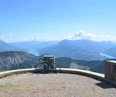 The view from the top of Mont Colombis