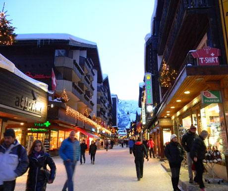 Shopping in Zermatt