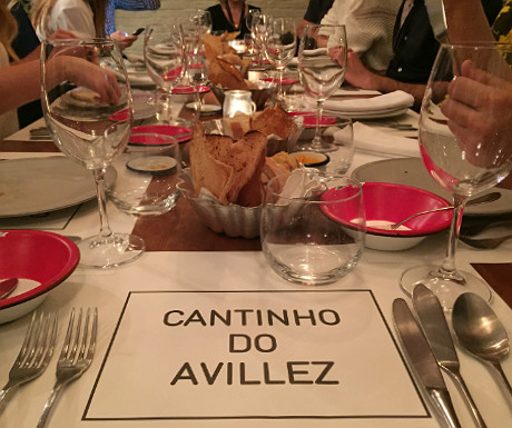Dinner at Cantinho do Avillez