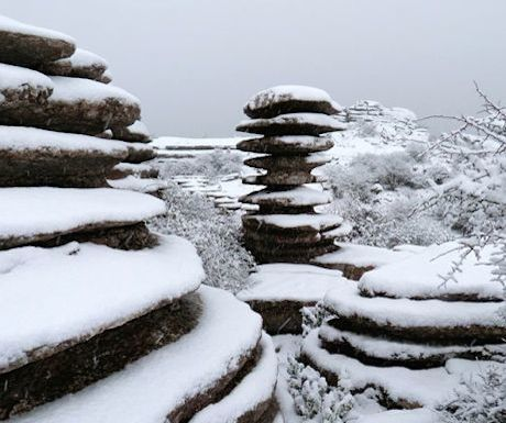 El Torcal in Winter