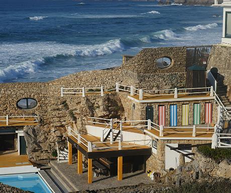 Hotel along the Estoril coast