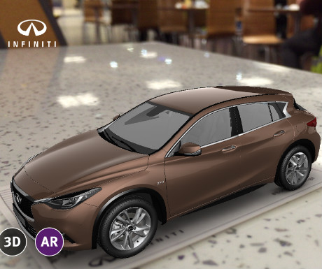 Infiniti app with car