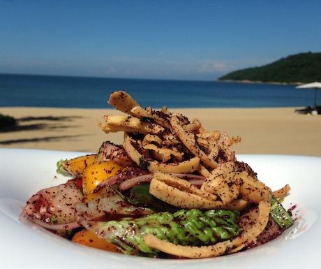 Intercontinental Sun Peninsula Danang - food