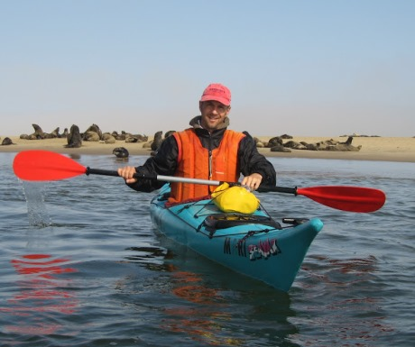 Kayaking in Walvis Bay