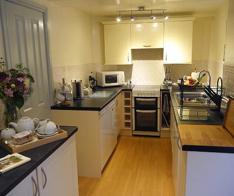 Kitchen at Stone Lodge