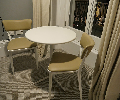 Laslett table and chairs